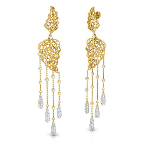Nada Long Earrings