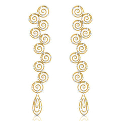 Nata Long Earrings