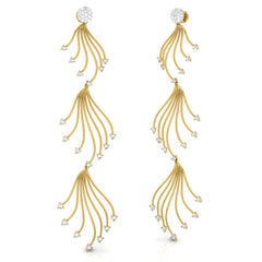 Nati Long Earrings