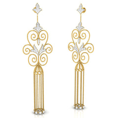 Nava Long Earrings