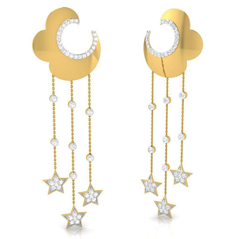 Neer Long Earrings