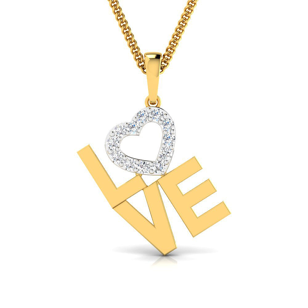 Diamond studded love mommy pendant in gold pristine fire love mommy pendant love mommy pendant aloadofball Choice Image