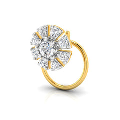 Dhanashri Diamond Nose Pin