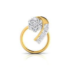 Dhanishta Diamond Nose Pin
