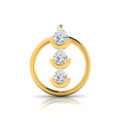 Kanishka Diamond Nose Pin