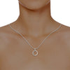 diamond studded gold jewellery - Mikayla Fashion Pendant - Pristine Fire - 4
