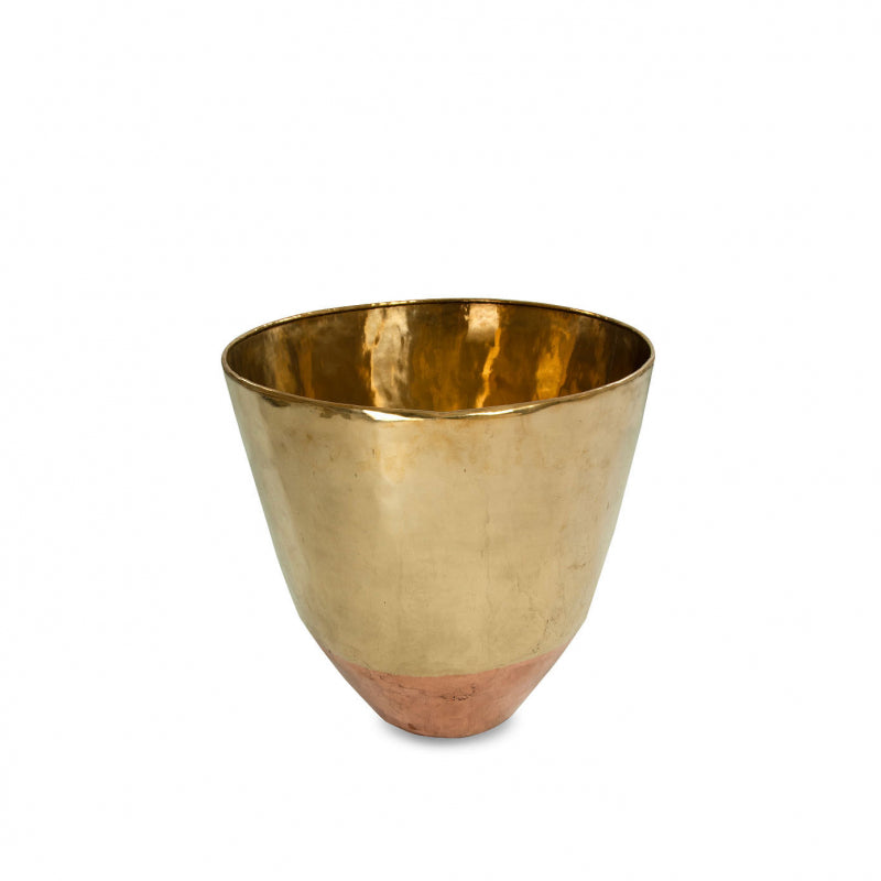 Large Copper & Brass Planter