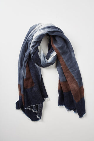 Marval Boiled Wool Scarf 100% Wool