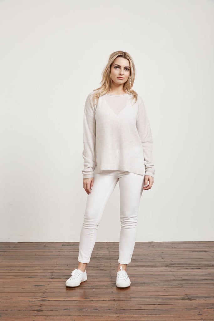 Marval George 100% Cashmere Sweater