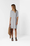 Mela Purdie Relaxed Boat Neck Dress