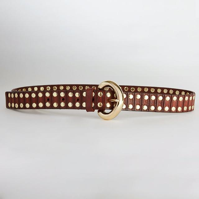 Caravan + Co Sadie Leather Belt