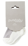 Purebaby 2 Sock Pack
