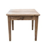 Elm lamp table 1 drawer