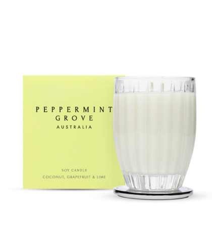 Peppermint Grove Coconut, Grapefruit & Lime Candle
