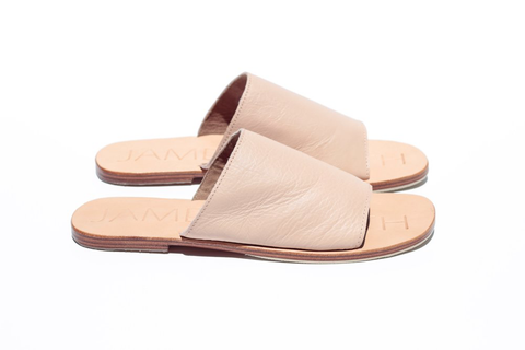 Espadrille Leather Wedge