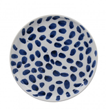Robert Gordon Indigo Bursh Spot Terra Dinner Plate