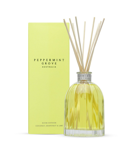 Peppermint Grove Coconut, Grapefruit & Lime Diffuser