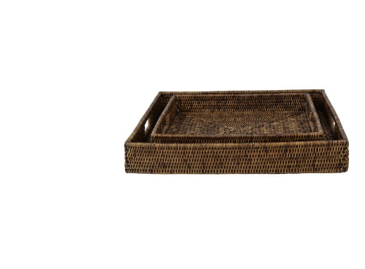 Plantation Large Square Tray