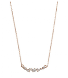 Gold Dust Nights Necklace, Rose Gold