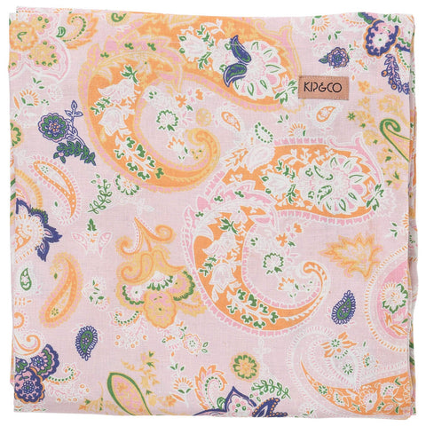 Kip & Co Paisley Linen Tablecloth