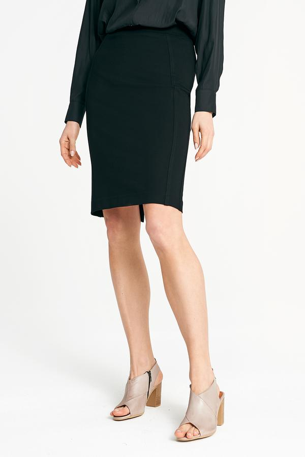 LAYERD Ponte Pencil Skirt