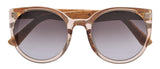 Sticks & Sparrow Clover Crystal Champagne Sunglasses