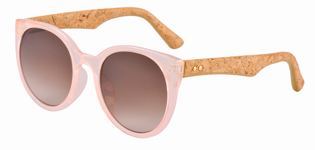 Sticks & Sparrow Clover Peach Sunglasses