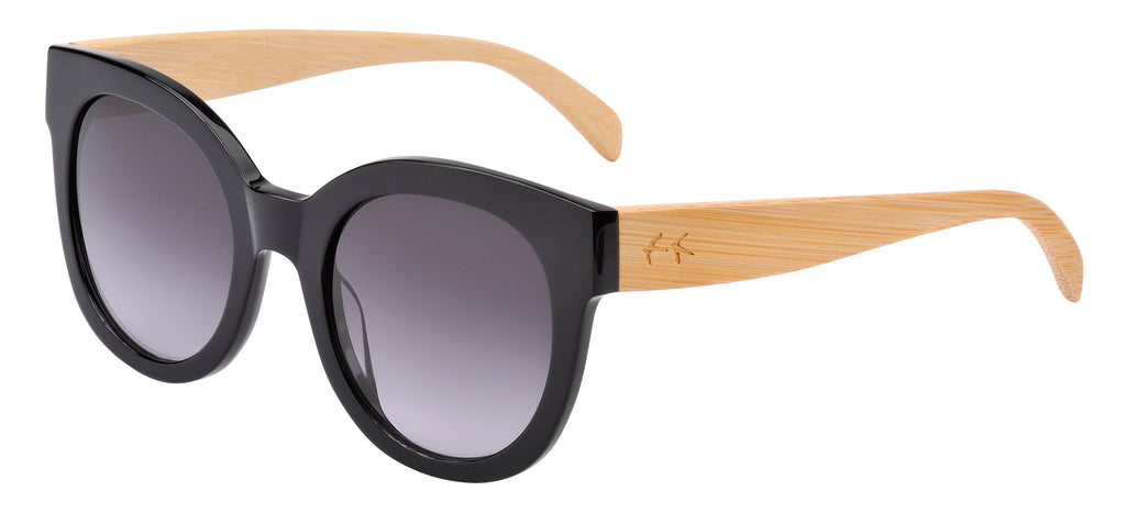 Sticks & Sparrow Coast Black Sunglasses