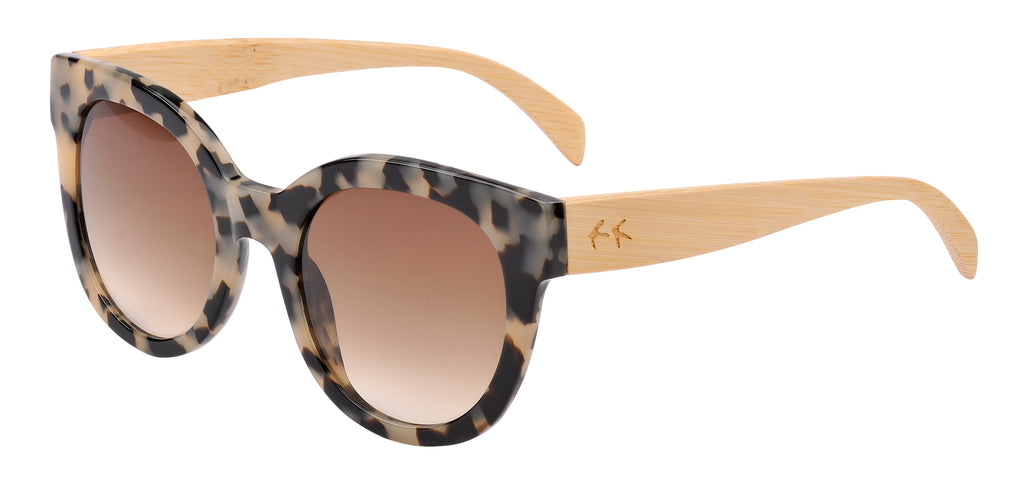 Sticks & Sparrow Coast Ivory Tortoise Sunglasses