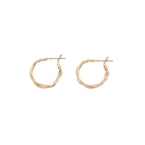 Kirstin Ash True North Hoops Sterling Silver