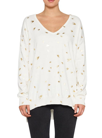 Luxe DeLuxe Escape V-Neck Sweater