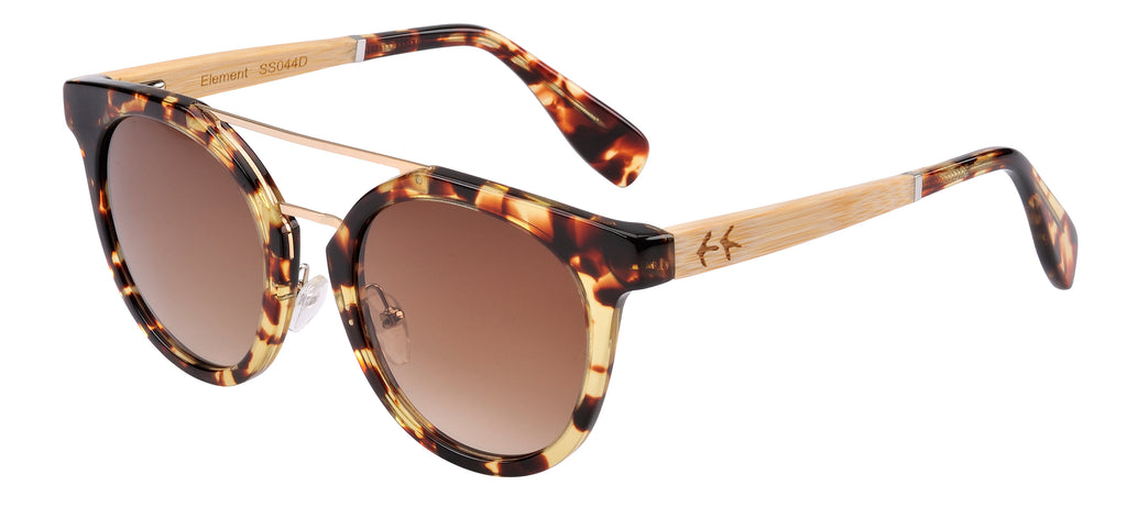 Sticks & Sparrow Element Tortoise Sunglasses