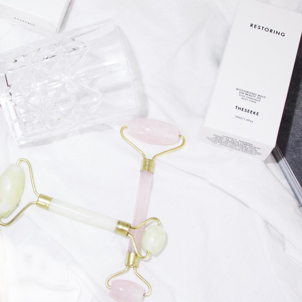 TheSeeke Rose Quartz Face Roller