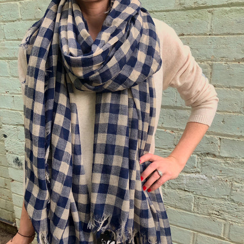 Marval Designs Border Scarf