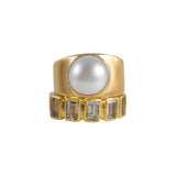 Fairley Pearl Dome Ring