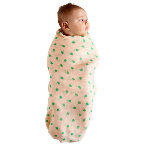 Kip & Co Four Leaf Clover Bamboo Swaddle