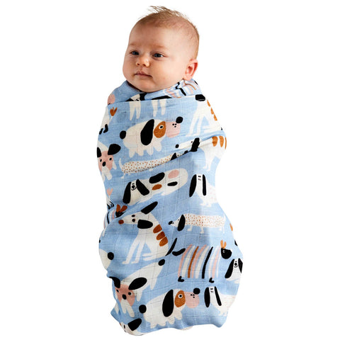 Kip & Co Sir Fred Bamboo Swaddle