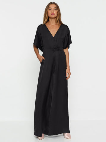 Luxe Deluxe Look Again Maxi Jumpsuit