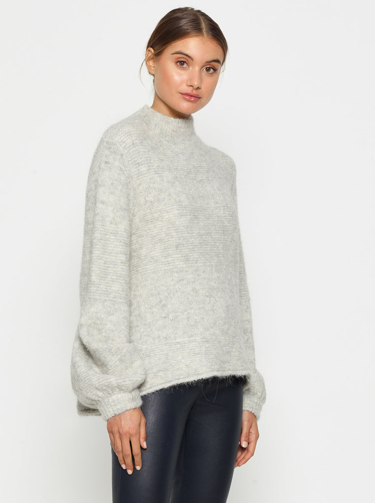 Luxe Deluxe Off Duty Cocoon Sleeve Sweater