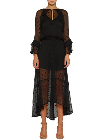 Mela Purdie Flute Sleeve Dress