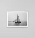 Artwork - Sailboat Black & White