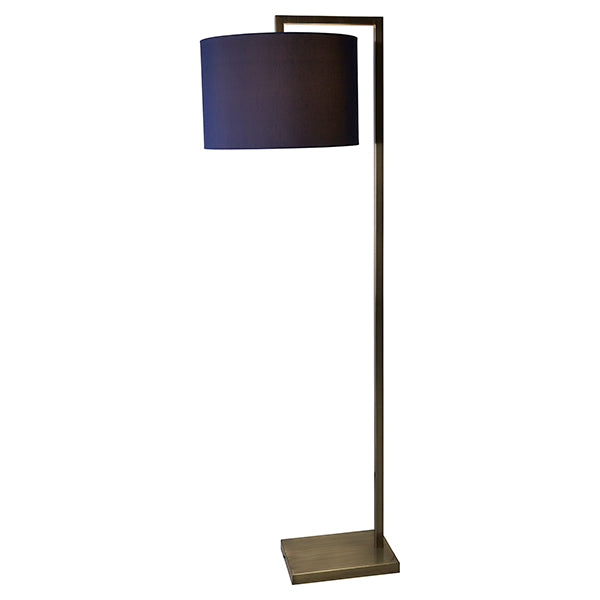 Tropez Brushed Brass Floor Lamp