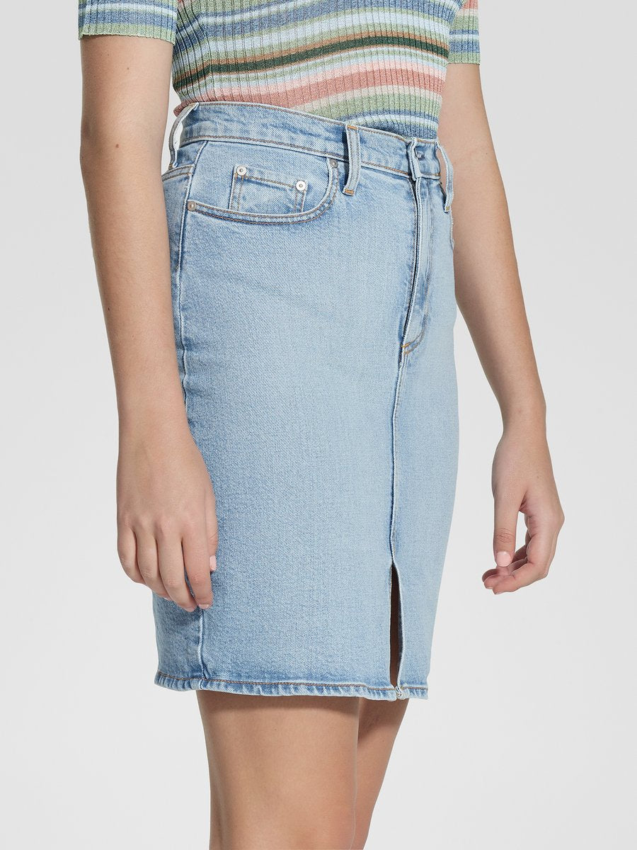 Nobody Denim Siren Skirt Split