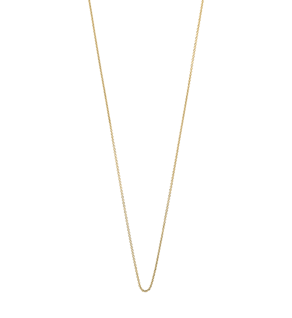 Kirstin Ash Solid Fine Chain Rose Gold 16-18""