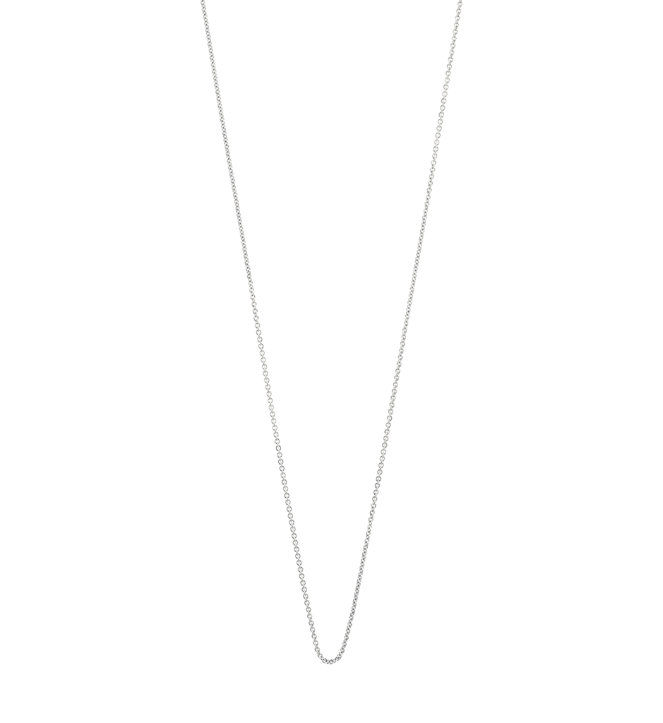 "Kirstin Ash Solid Fine Chain 16-18"" Sterling Silver"
