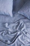 Society Of Wanderers King Fitted Sheet, Chambray