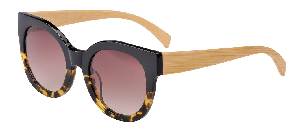Sticks & Sparrow Coast Black Demi Sunglasses