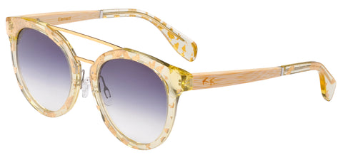Sticks & Sparrow Element Gold Leaf Sunglasses