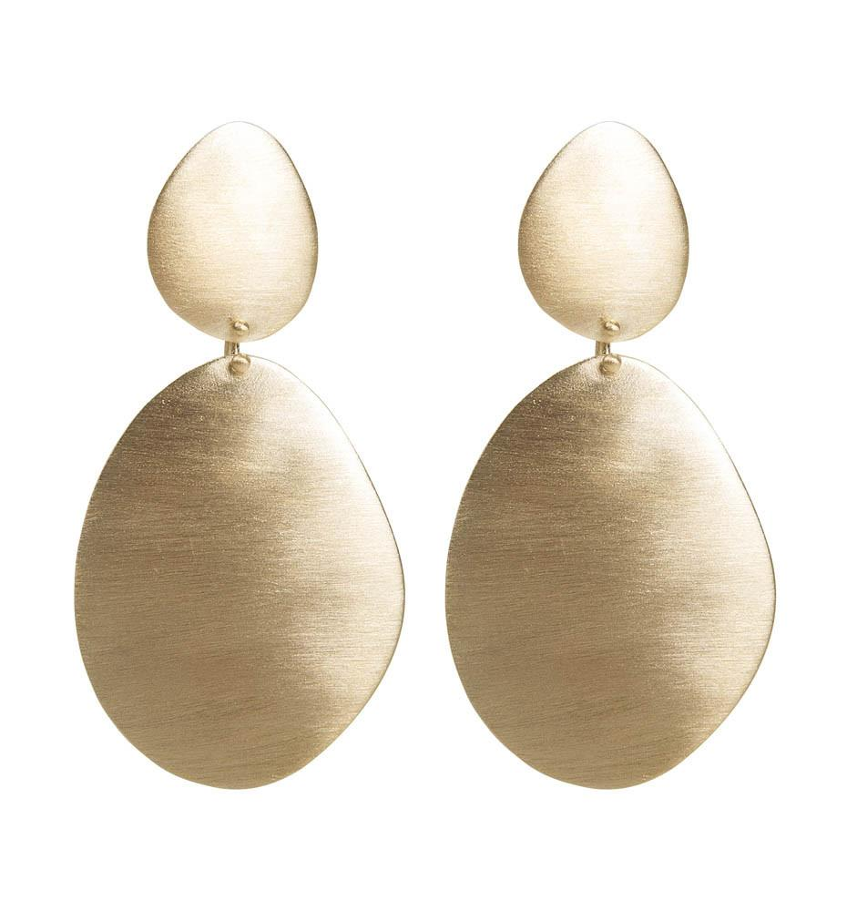 Fairley Alexa Shield Earrings
