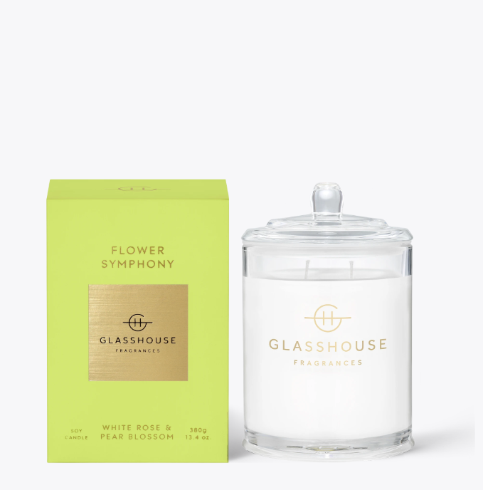 Glasshouse Candle - Flower Symphony